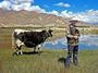 Bäuerin im tibetischen Hochland – ©  Stefan Schomann